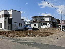 【土屋ホーム住宅用地】札内あかしや町 売地角地の外観
