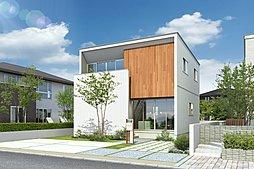 長栄小・新田中、徒歩1分。 35坪超の土地に好きな間取りで建築可。の外観