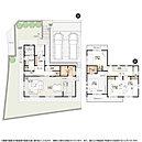 4号棟:敷地面積/176.16m2(53.28坪) 建物面積/114.65m2(34.61坪)