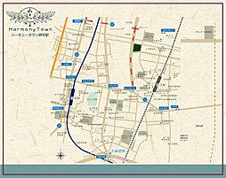 ハーモニータウン堺市駅:案内図