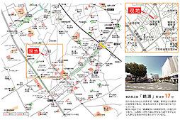 【KONDOの新しい分譲地】 (仮称)三芳町藤久保プロジェクト 区画整理地内120m2超:交通図