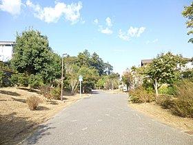 遊歩道「あきの道」