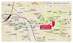 【高橋開発(株)】 レオグランデひまわりテラス:案内図