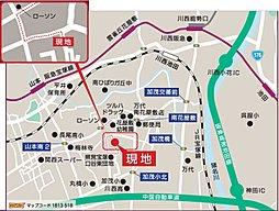 ヴェルテューサ宝塚東II(全7区画)  注文建築:案内図