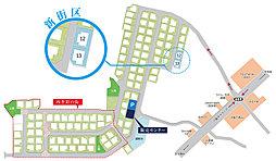 【サンヴェール東登美ヶ丘住宅地】新規分譲宅地 限定2区画:案内図