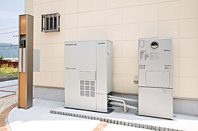 ガスと太陽光発電のダブルで効率よく発電と売電で光熱費を安く