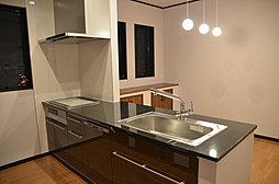 キッチン天然石天板(当社施工例)