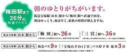 宝塚山手台ビューノ【建築条件付土地】:案内図