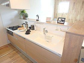 食器洗い洗浄機・蛇口一体型浄水器付きキッチン