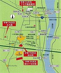 【GW 4/29(土)30(日)は現地説明会】 マキ'ハウス田辺5期:案内図