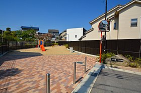親子のふれあいの場となる街区公園を設計