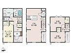 ご家族で過ごす時間と個の時間をそれぞれ大切にできる3階建プラン♪