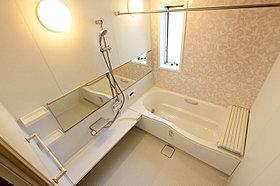 くつろぎ空間の浴室は2Fに設置しました♪