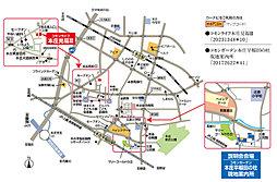 コモンライフ本庄見福III【建築条件付土地】:案内図
