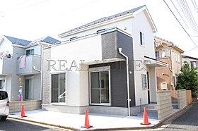 【外観】高台の閑静な住宅街に1棟完成!