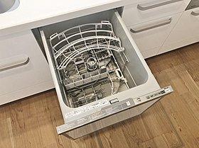 【家事を手助け】 食器洗い乾燥機が標準装備!(11号棟)