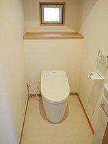節水・節電の高機能トイレ(分譲済み住戸写真)