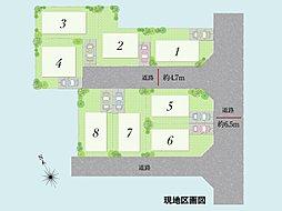 フォレストタウン高石高師浜 【緑豊かなランドプラン】【駅まで徒歩2分】:案内図