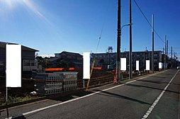 【建築条件付土地】2路線2駅利用可。5.45m道路に面した整形...