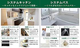 システムキッチン/システムバスのご紹介