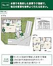 【No.9】価格: 2980万円 間取り: 4LDK 土地面積: 254.39m2 建物面積: 116.76m2