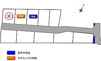 全10区画の開発分譲地