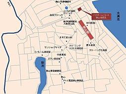 パナホーム・コート 狭山池尻北(建築条件付):案内図