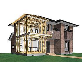 パナソニックが開発した耐震住宅工法です。