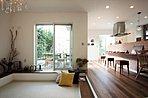 ■施工事例:お洒落なタイル張りキッチンのLDKも良いですね!!