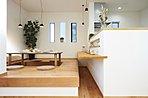 ■施工事例:食事スペースにもちょっとした休憩スペースにもどうぞ