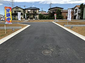 分譲地内新設道路(幅員6.2m)