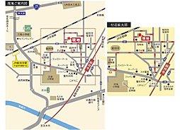 総持寺1丁目 第II期分譲開始「全6区画」 :交通図
