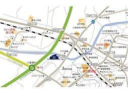 サニーガーデン津田新町2期:交通図
