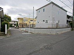 並列駐車2台有り 敷地面積42坪超 建物面積104平米とゆとり...