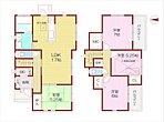 1号地:敷地面積約48.43坪!LDKと和室の続き間ゆったり約22.25帖!
