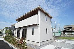 イワタ建設 岐阜市鏡島精華 南向き4区画の新分譲地の外観