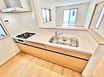 同社施工例写真 雨の日のお洗濯にも大活躍な浴室乾燥機付!