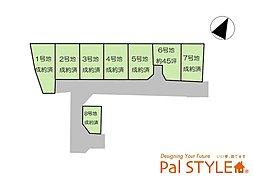 パルタウン姫路市西延末 全8区画の外観