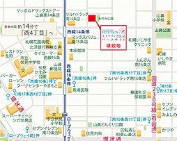 エステティカ伏見パークサイド:案内図
