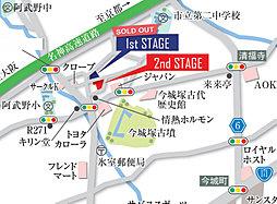 LIEBEN TOWN 岡本町:交通図