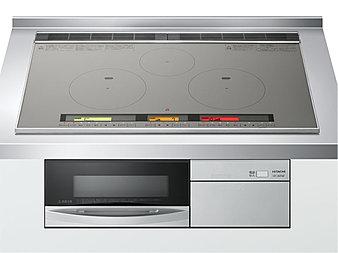 電気を使って鍋自体を直接加熱するIHクッキングヒーター。不完全燃焼や立ち消えの心配もないので安心です。水蒸気の発生や油の飛び散りも少ないため、室内をよりきれいに保つことができます。