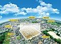 全92区画の大型分譲地誕生。―生活施設が徒歩圏内にすべてが揃う街―