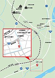 【太啓建設】 あずみの家 豊田市越戸町:案内図