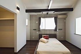 参考プラン:WICや書斎付き主寝室