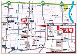全28区画【ウィンタウン飾磨区細江】分譲中:案内図