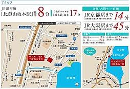 ウエストレイク下阪本5丁目 全44区画:案内図