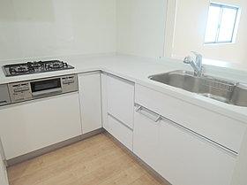 食洗器がついていて、家事の負担を軽減。