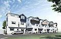 建物出来ました 5駅3路線利用 月々8万円台から 利便性良好 プライマルガーデン東神奈川 駅徒歩7分