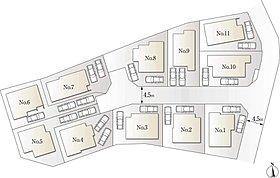【8号棟】キッチンに広めのパントリー付。南側バルコニー採用。