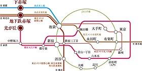 4路線3駅利用可能